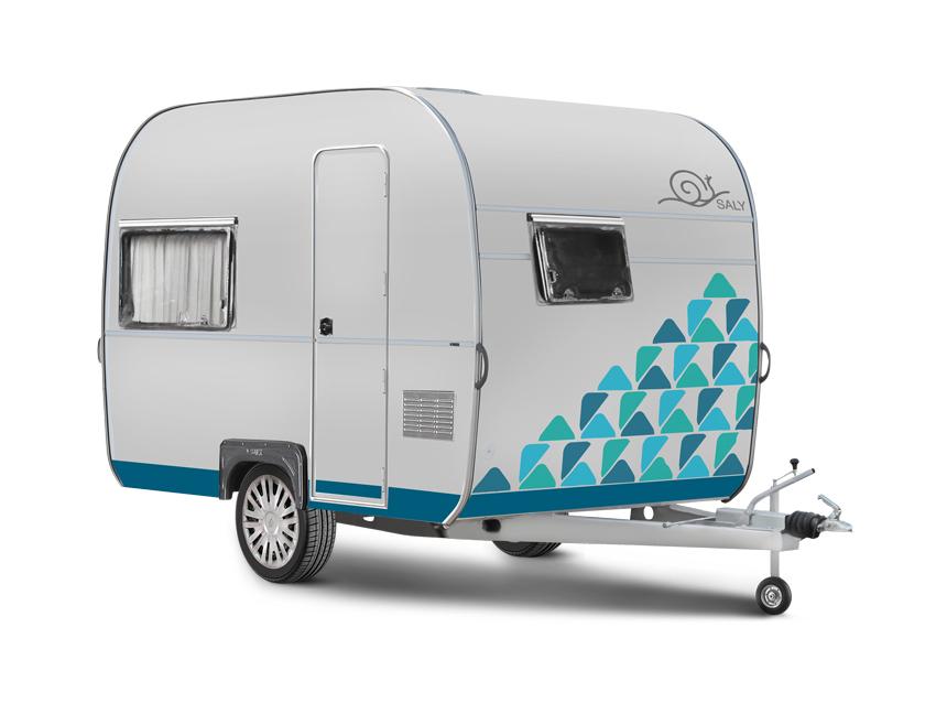 Sally 750 Kg altı çekme karavan