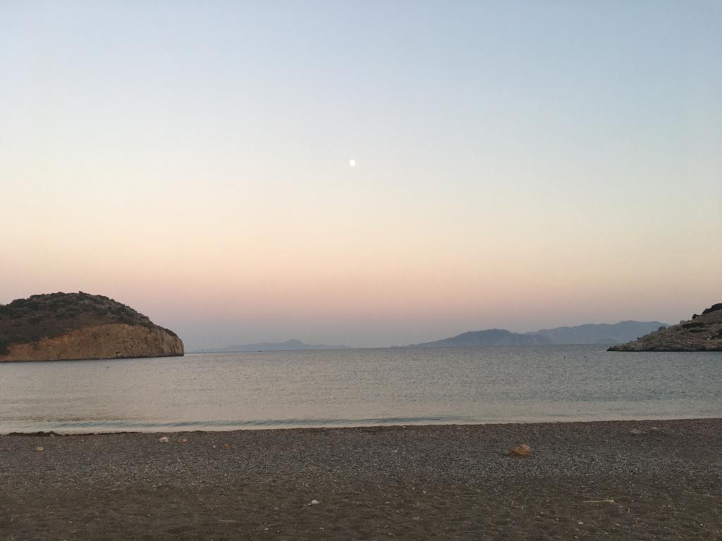 Perili Köşk Deniz Manzarası Marmaris